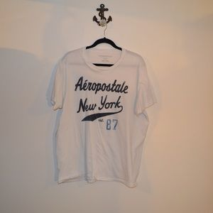 4 for$25 Aeropostale men's white T-shirt